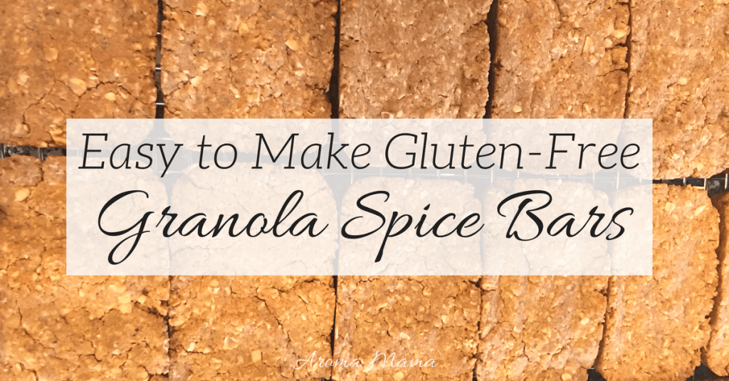 Easy to Make Gluten-Free Granola Spice Bars