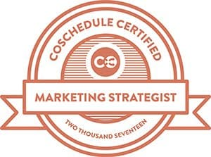 CoSchedule Badge