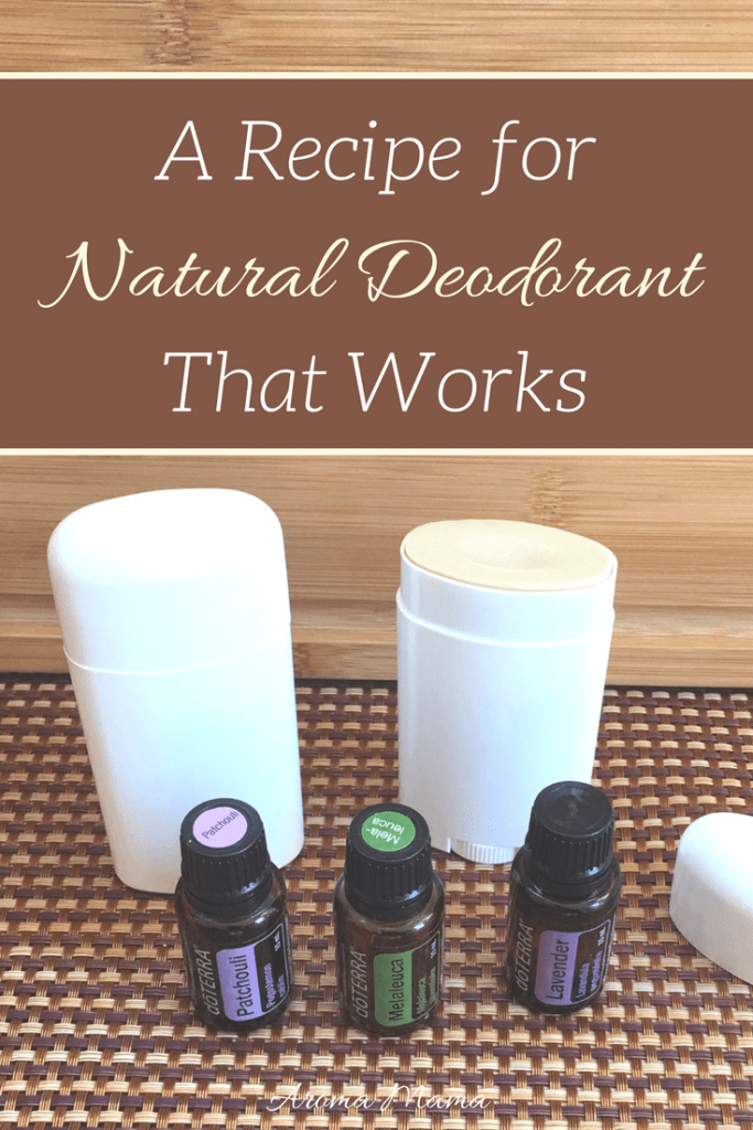 A Recipe for Natural Deodorant That Works