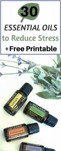 30 Essential Oils to Reduce Stress
