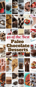 40 of the Best Paleo Chocolate Desserts