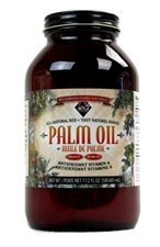 Palm Oil, Natural 17.2 Oz. Jar by Wilderness Family Naturals