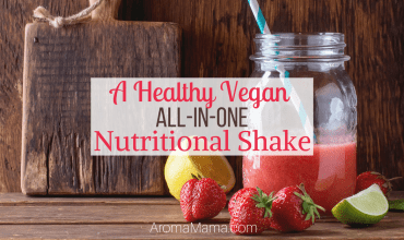 A Healthy Vegan All-In-One Nutritional Shake
