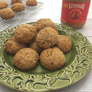 Almond Butter Breakfast Cookies