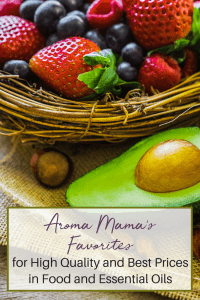 Aroma Mama's Favorites is a page for her favorite products and brands that she buys for her family, and what she recommends for the best quality and price.