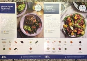 Blue Apron + Whole30 Box Review Ingredients