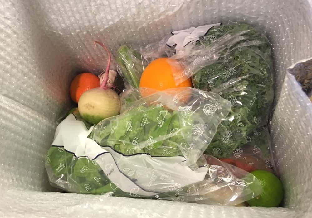 Blue Apron + Whole30 Box Review