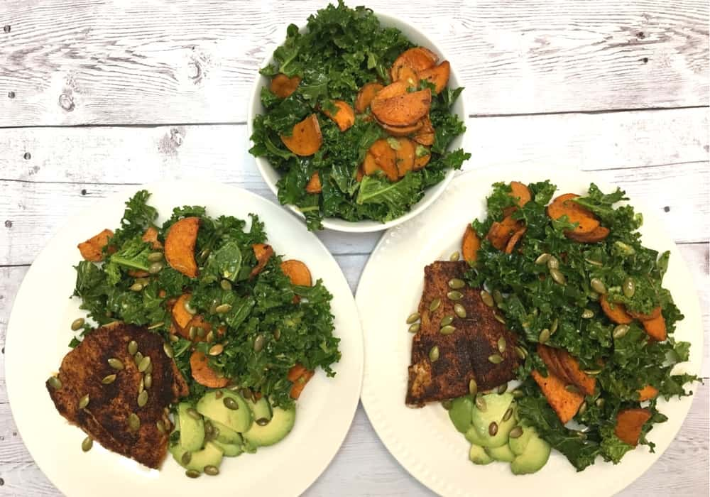 Blue Apron + Whole30 approved recipe for Mexican-Spiced Barramanundi
