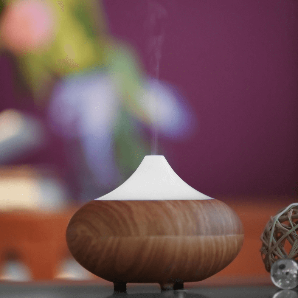 Diffusing Essential Oils for Easier Breathing
