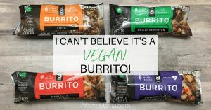 The most convenient and delicious vegan burrito