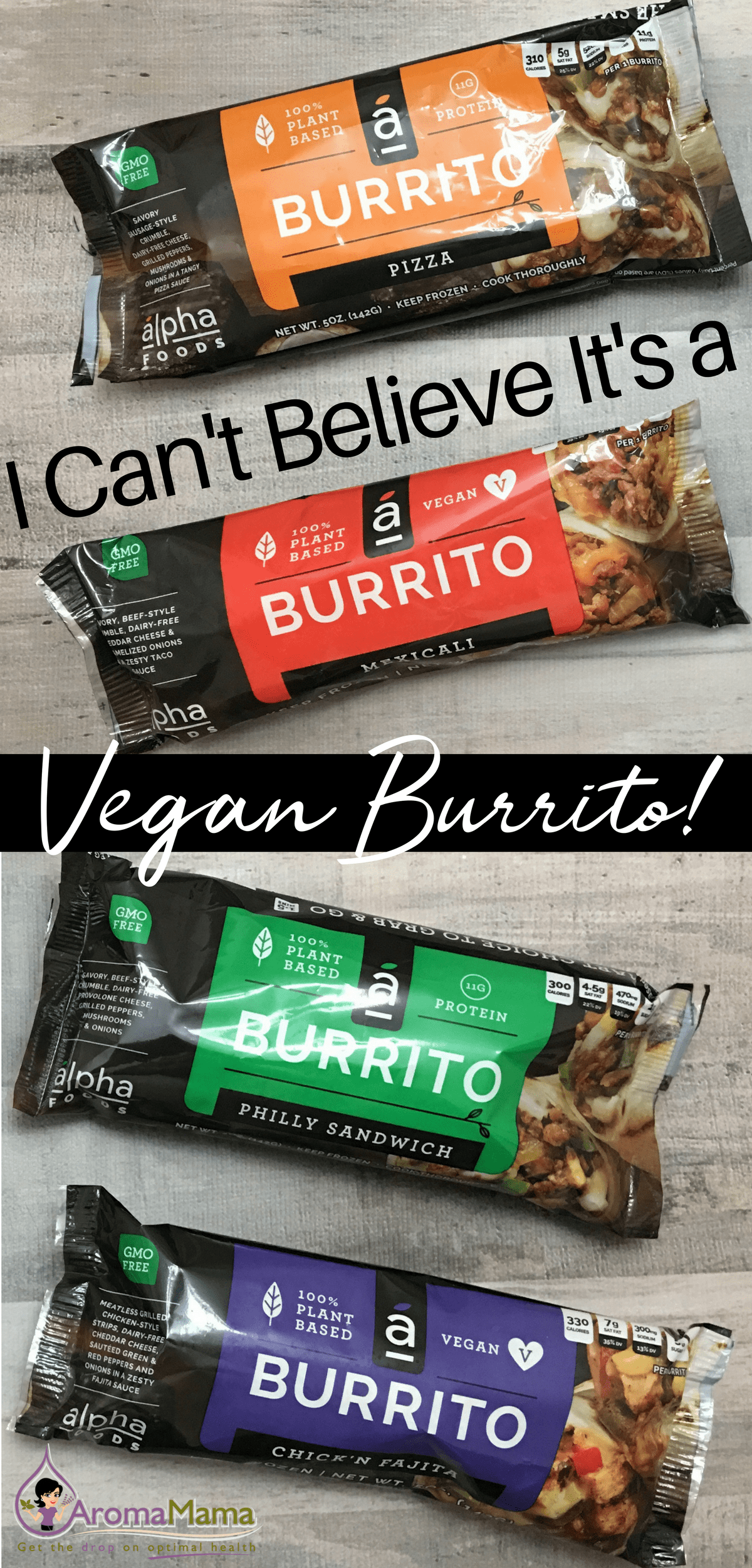 The new frozen vegan burrito by Alpha Foods that's changing people's mind about how delicious a frozen vegan burrito can be! #sponsored #AlphaFoods #AlphaBurritos #momsmeet #vegan