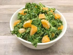Easy Raw Kale Salad