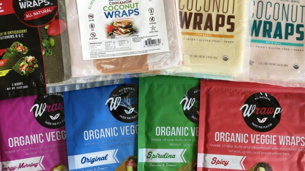 Paleo Sandwich Wraps