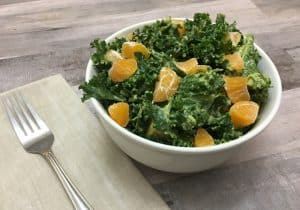 Kale Salad in a Bowl