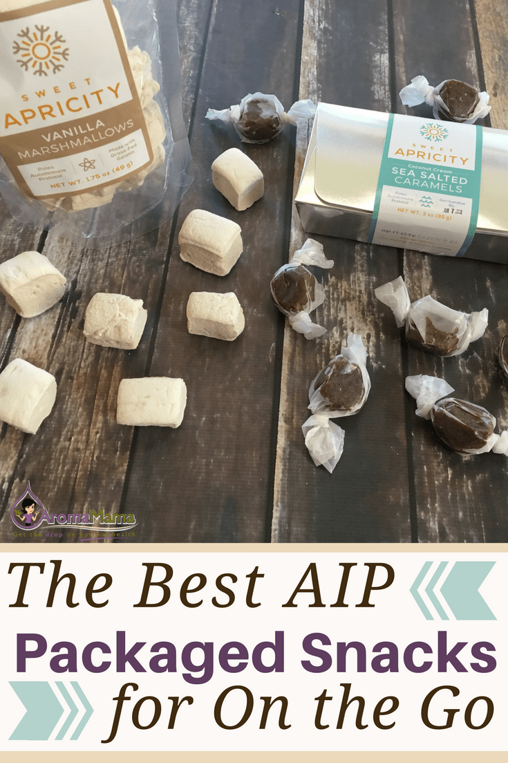 Are you on the Autoimmune Paleo diet and you're too busy to prepare your own AIP snacks? Are you traveling and need AIP snacks that are packaged? Here's a list of the best AIP packaged snacks when you're too busy to prepare your own, for travel, or you're on the go.