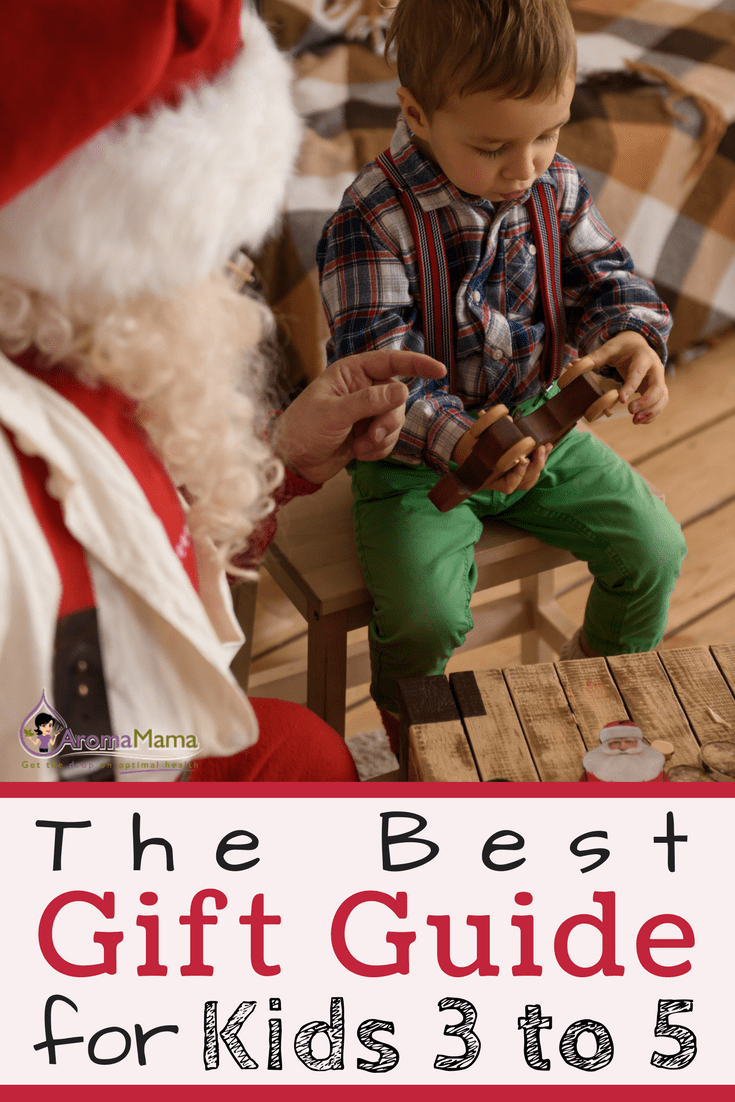 A gift guide for kids ages three to five has a great list of gift ideas for children. The gift guide was even approved by a three-year-old!