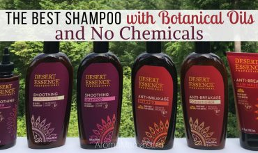 The Best Shampoo with Botanical Oils and No Chemicals