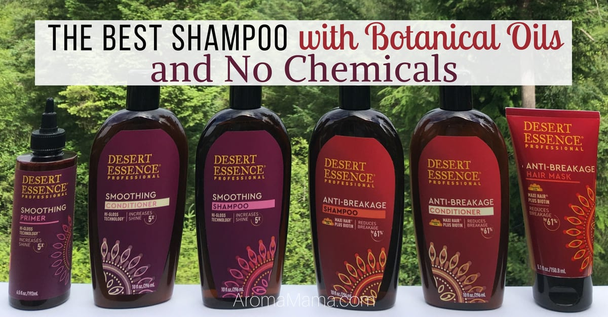 Desert Essence is the first brand I turned to when I ditched chemicals in my shampoo. Check out the new Desert Essence Smoothing and Anti-Breakage hair care line here!
